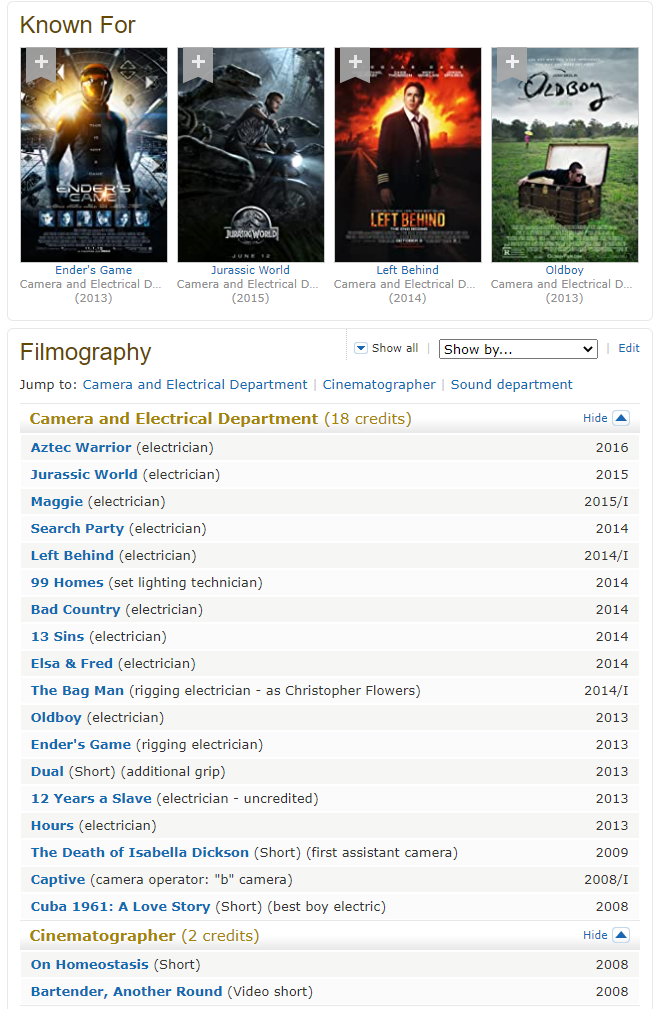 Chris Flowers IMDB