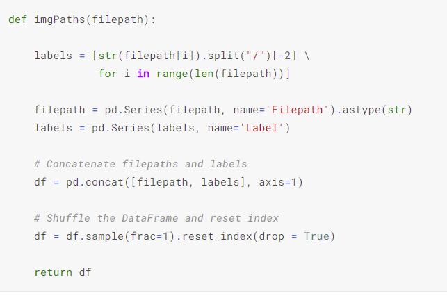 Data frame function